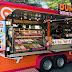 """ดังกิ้น """"ฟู้ดทรัก"""" (food truck) รถขายโดนัทเคลื่อนที่ ทุน 1 ล้าน แผนขยายเพิ่ม 10 คัน"""