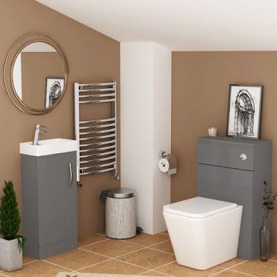 built in bathroom suites