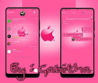 Iphone Theme For YOWhatsApp & Fouad WhatsApp By Gabiitha