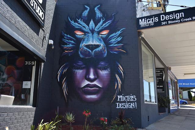 Street Art in Kingsgrove Sydney