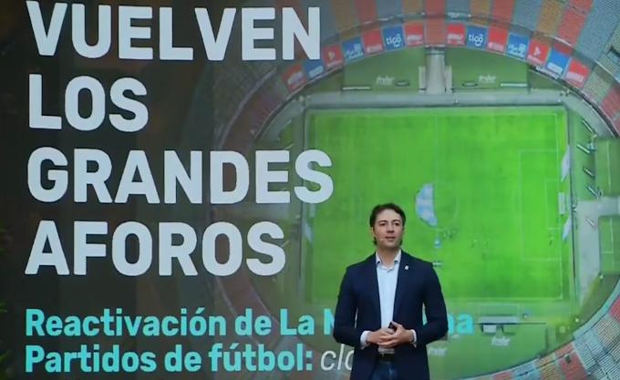 Apuesta por la reactivación: Con clásico entre Independiente Medellín y Atlético Nacional volverían los hinchas al Atanasio