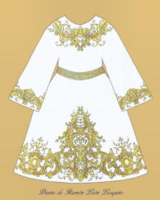 Nueva túnica para el Señor del Prendimiento de Úbeda que estrenará en la Semana Santa de 2022