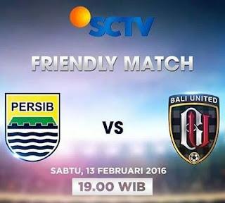 SCTV Siarkan Langsung Persib Bandung vs Bali United