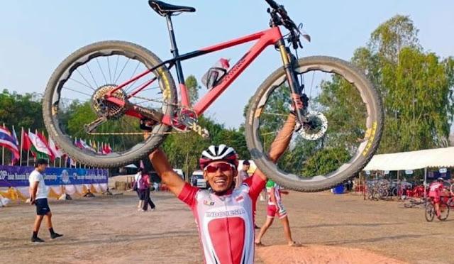 Zaenal Fanani, atlet balap sepeda asal Lumajang
