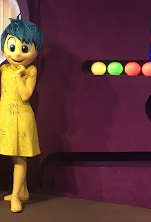 Joy Epcot Meet and Greet Inside Out