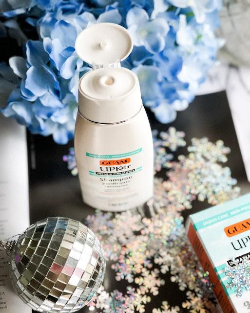 Шампунь для глубокого очищения волос Guam Upker