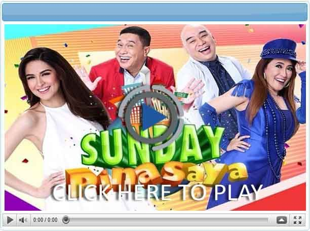 Sunday Pinasaya - 20 October 2019  - Pinoy Show Biz  Your Online Pinoy Showbiz Portal