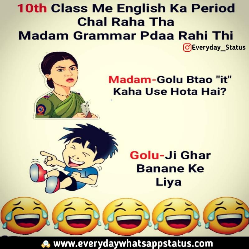 Unique 60 Funnny Quotes In Hindi Images