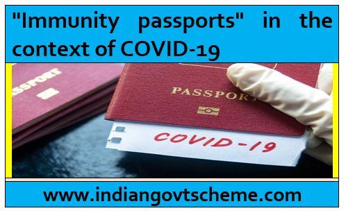 Immunity+passports