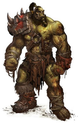 Orco, World of Warcraft concept art