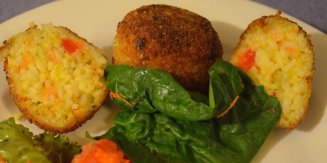Resultado de imagen para croquetas de arroz veganas