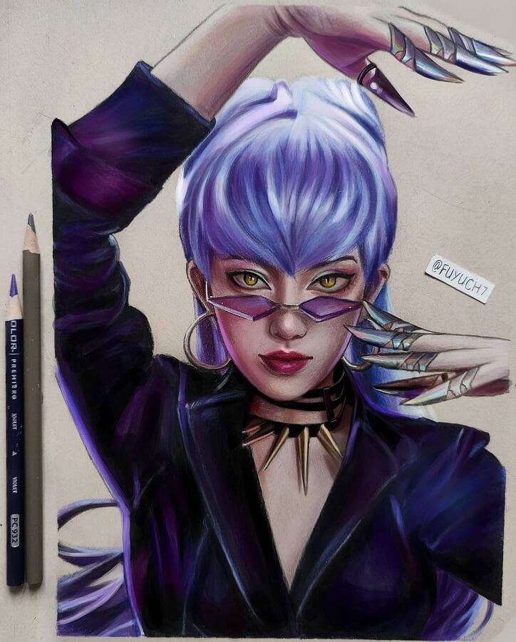 07-Claws-and-blue-purple-hair-Vicky-www-designstack-co