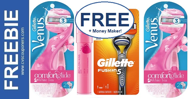 FREE Gillette Razor CVS Deal 9-6-9-12
