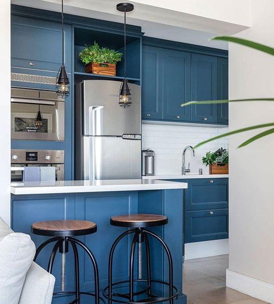 cozinha-azul-arquitetura