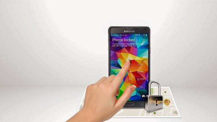 Blocca il mio dispositivo, oltre a localizzare Samsung Galaxy J3