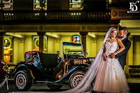 casamento com cerimônia na igreja são josé la salle em canoas e recepção no the place canoas com decoração clássica e elegante em branco prata e azul por fernanda dutra eventos cerimonialista em canoas