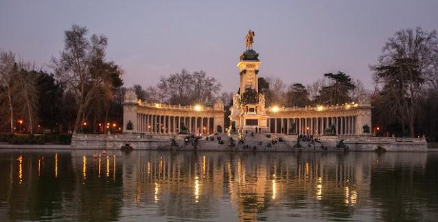 Attractions of Buen Retiro Park Destinations Madrid Spain