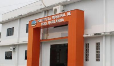 Edital processo seletivo Prefeitura de Nova Marilândia - MT 2017