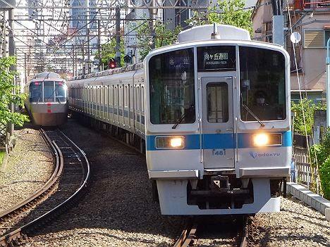 小田急電鉄 各停 向ヶ丘遊園行き2 1000形