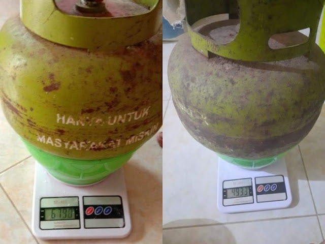 Warga Bongkar Praktik Korupsi LPG, Selisihnya Hingga 1,2 Kilogram, 'Ayo Bergerak'