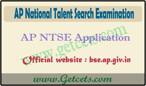 AP NTSE Application Form 2020-2021, bseap ntse stage 1 syllabus