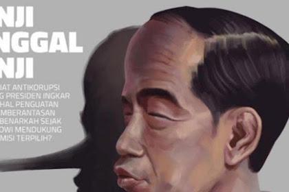 Politik Pencitraan Jokowi dan Janji Pinokio, Rakyat Sudah Muak!