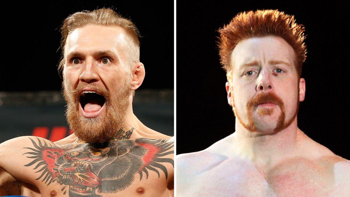 Sheamus diz que Conor McGregor acabará indo para a WWE