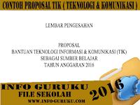 [ Info Guru ] Download Contoh Proposal Pengajuan Bantuan TIk ( Teknologi Informasi & Komunikasi ) Terbaru
