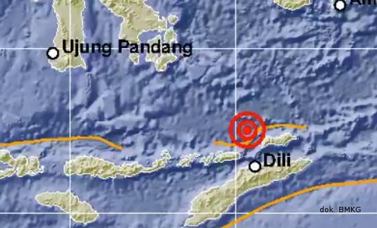 Berturut-turut, Dua Gempa Guncang Alo, NTT dan Hasel, Maluku Utara
