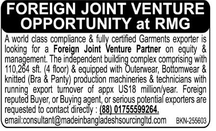 Foreign Joint Venture