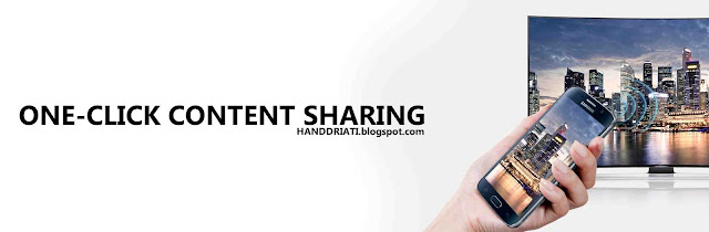 One-Click Content Sharing
