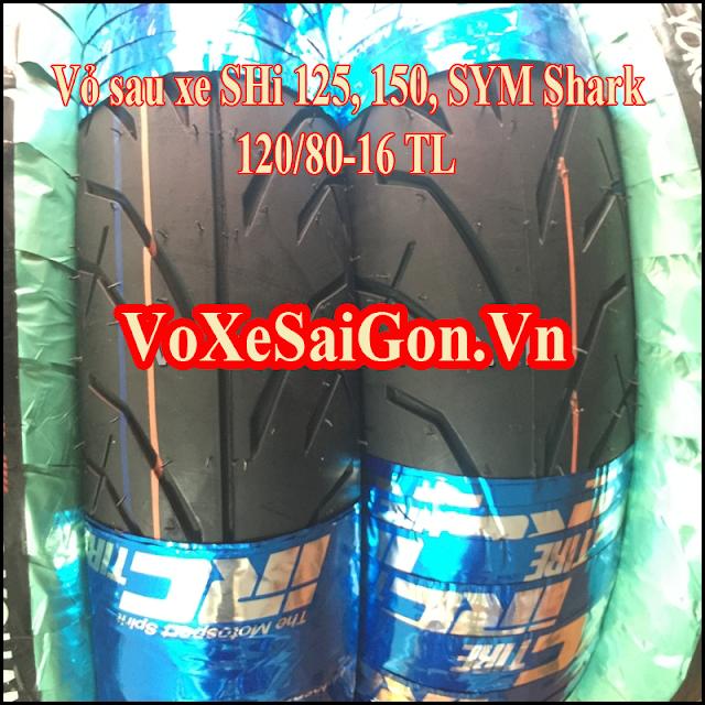 Vỏ sau xe SHi 125,150 IRC Thái 120/80-16 TL