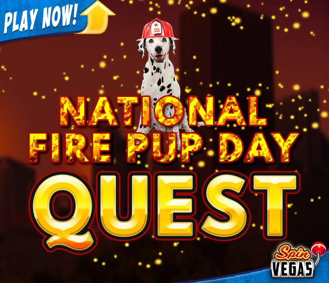 National Fire Pup Day Wishes Images download