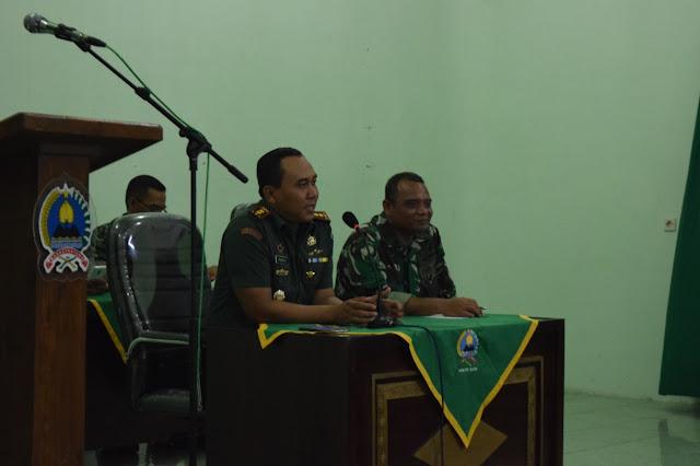Dandim Klaten : Ujung Tombak TNI DI Garis Depan Adalah Babinsa