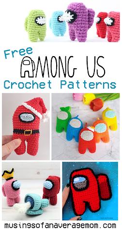 Free Among Us crochet Patterns