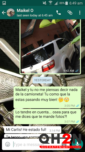 Ismael Cala homosexual chat whatsapp filtrado gay