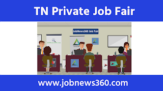 Pudukkottai Mega Private Job Fair 19th & 20th November 2020