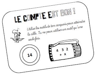 Bevorzugt Teacher Charlotte: Rituel de calcul : Le compte est bon! VT99