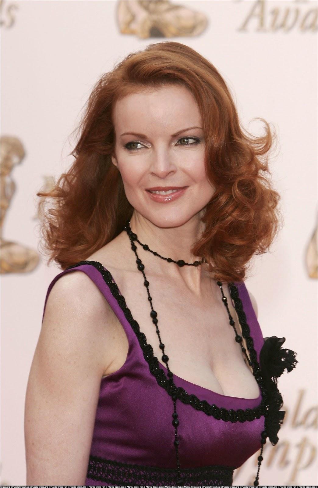 Celebrity Bra Size: Marcia Cross - 90D (34C)  Celebrity Bra S...