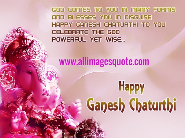 Happy Ganesh Chaturthi Wishes, Images for Facebook