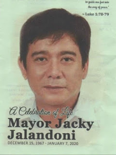 Mayor Jacky Jalandoni lll