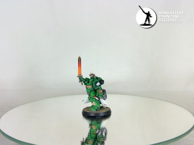 Space Marine Salamanders kill team wh40k