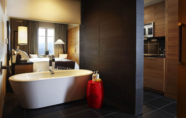 Designer: Jean Michel Gathy, Guest Room U2013 Viceroy Snowmass, Image Via  Interior Design