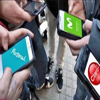 Tarifas de celulares con aumento de hasta 24%