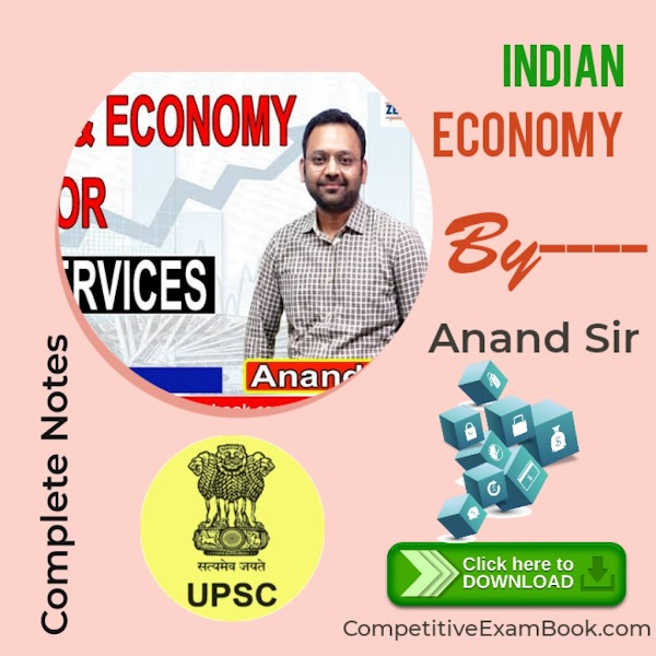 Indian Economy Complete Notes By Anand Sir
