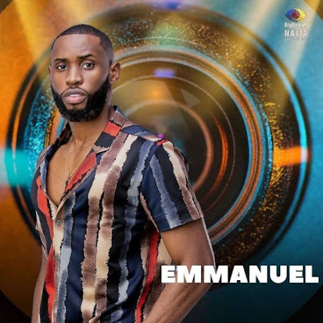 Big Brother Naija's housemate Emmanuel #Momusicdate