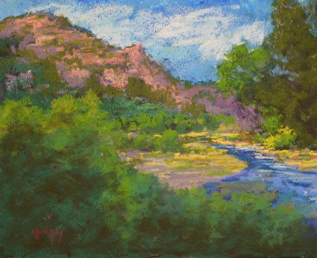 "Pastel Artists International ""crystal River"" Original"