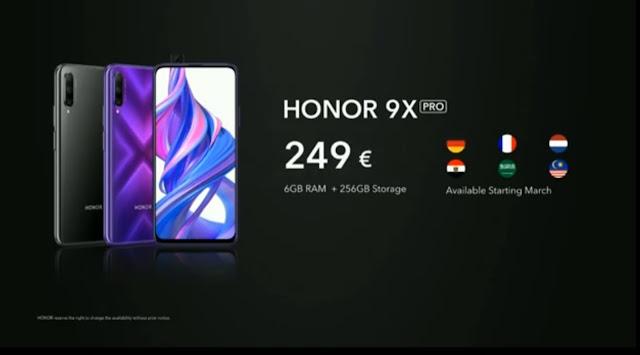 Honor View 30 Pro 5G ve Honor 9X Pro Piyasaya Sürüldü!