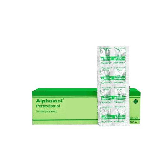 Alphamol 600 Mg 10 Kaplet Per Strip - 01