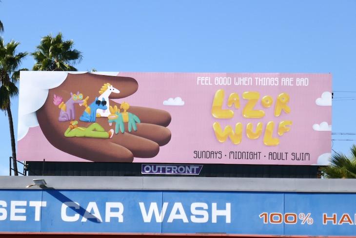 Feel good Lazor Wulf season 2 billboard